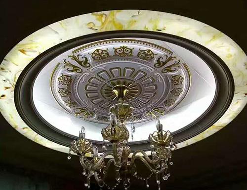 客厅灯具透光玉石 透光片 灯光片定制