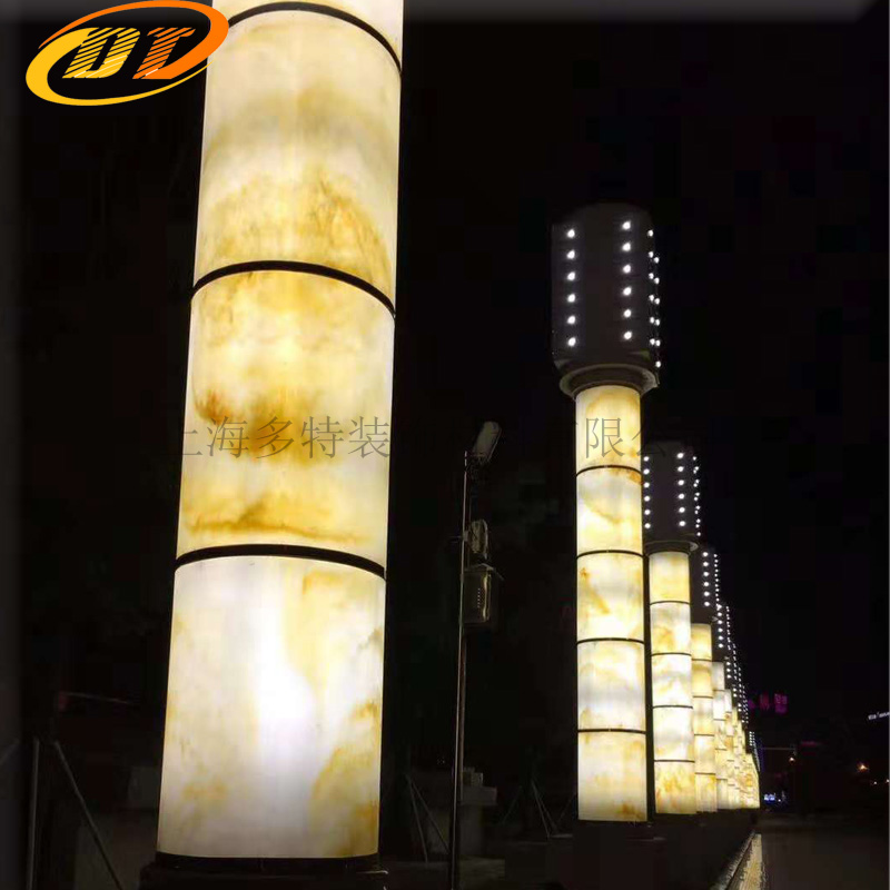 南京广场透光灯柱 透光灯柱定制生产厂家